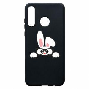Etui na Huawei P30 Lite Bunny with glasses