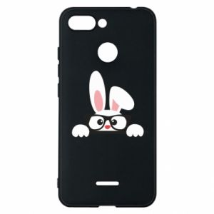 Phone case for Xiaomi Redmi 6 Bunny with glasses