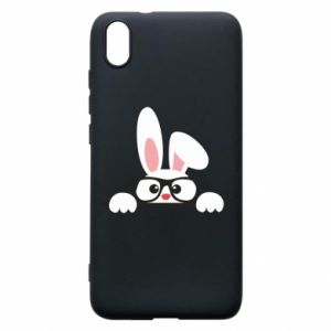 Phone case for Xiaomi Redmi 7A Bunny with glasses