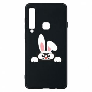 Phone case for Samsung A9 2018 Bunny with glasses - PrintSalon