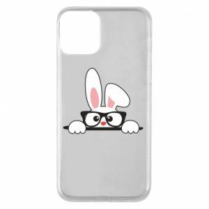 Etui na iPhone 11 Bunny with glasses