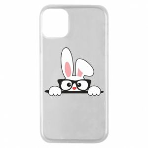 Etui na iPhone 11 Pro Bunny with glasses