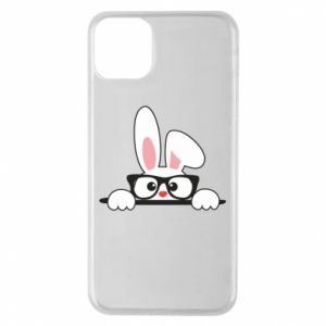 Etui na iPhone 11 Pro Max Bunny with glasses