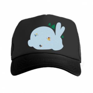 Trucker hat Bunny - PrintSalon