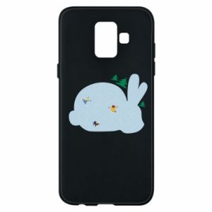 Phone case for Samsung A6 2018 Bunny