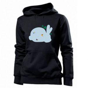 Women's hoodies Bunny - PrintSalon