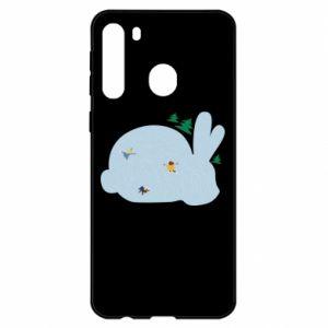 Samsung A21 Case Bunny