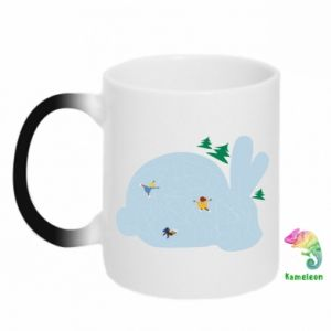 Chameleon mugs Bunny - PrintSalon