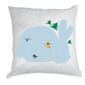 Pillow Bunny - PrintSalon