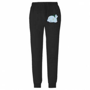 Męskie spodnie lekkie Bunny - PrintSalon