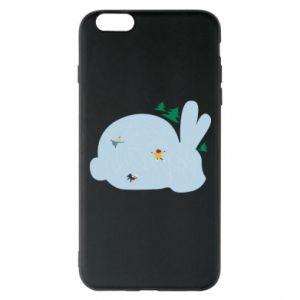Phone case for iPhone 6 Plus/6S Plus Bunny - PrintSalon