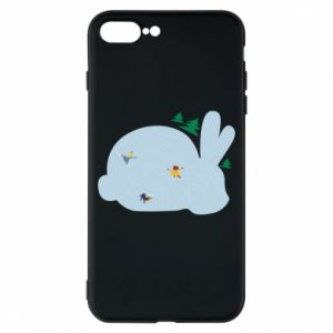 Phone case for iPhone 8 Plus Bunny