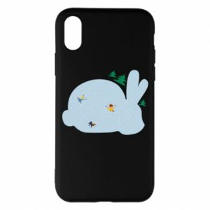 Phone case for iPhone X/Xs Bunny