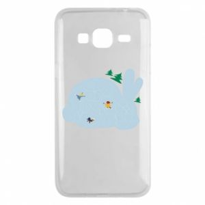 Phone case for Samsung J3 2016 Bunny