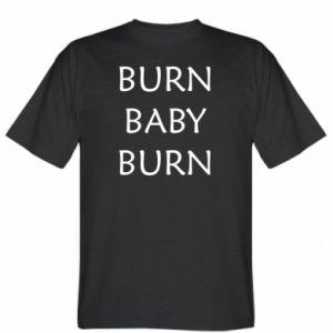 Koszulka Burn baby burn
