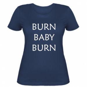 Damska koszulka Burn baby burn