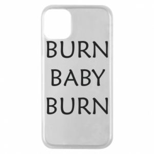 Etui na iPhone 11 Pro Burn baby burn