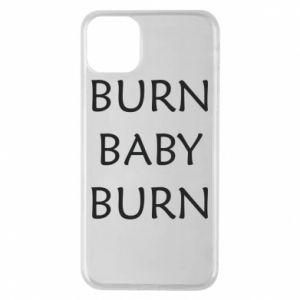 Etui na iPhone 11 Pro Max Burn baby burn