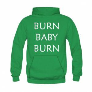 Bluza z kapturem dziecięca Burn baby burn