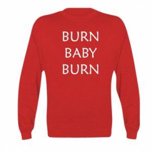 Bluza dziecięca Burn baby burn