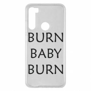 Etui na Xiaomi Redmi Note 8 Burn baby burn