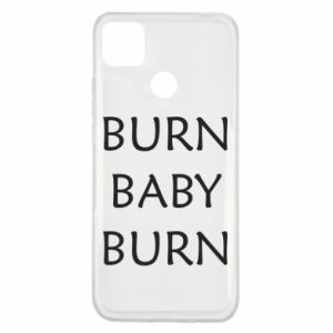 Etui na Xiaomi Redmi 9c Burn baby burn