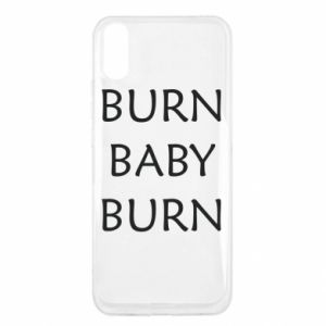 Etui na Xiaomi Redmi 9a Burn baby burn