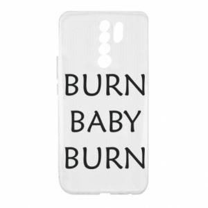 Etui na Xiaomi Redmi 9 Burn baby burn