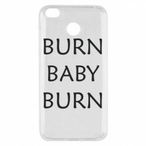 Etui na Xiaomi Redmi 4X Burn baby burn