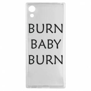 Etui na Sony Xperia XA1 Burn baby burn