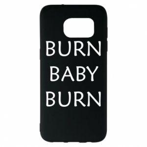 Etui na Samsung S7 EDGE Burn baby burn