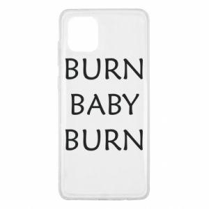 Etui na Samsung Note 10 Lite Burn baby burn