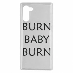 Etui na Samsung Note 10 Burn baby burn