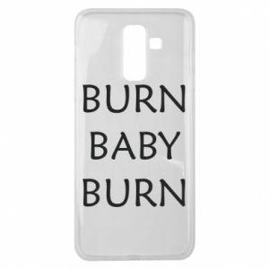 Etui na Samsung J8 2018 Burn baby burn