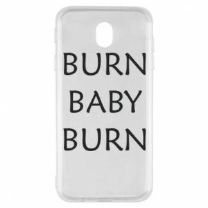 Etui na Samsung J7 2017 Burn baby burn