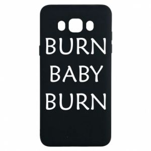 Etui na Samsung J7 2016 Burn baby burn