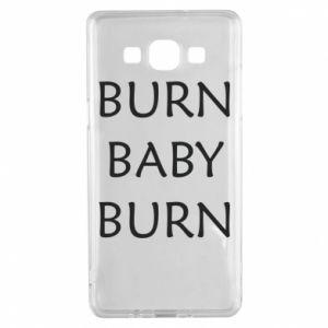 Etui na Samsung A5 2015 Burn baby burn