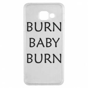 Etui na Samsung A3 2016 Burn baby burn