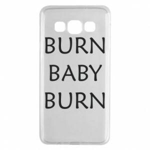 Etui na Samsung A3 2015 Burn baby burn