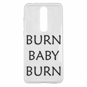 Etui na Nokia 5.1 Plus Burn baby burn