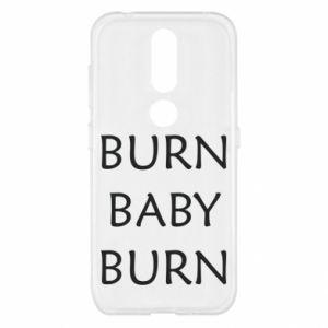 Etui na Nokia 4.2 Burn baby burn