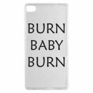 Etui na Huawei P8 Burn baby burn
