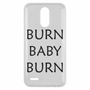 Etui na Lg K10 2017 Burn baby burn