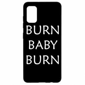 Etui na Samsung A41 Burn baby burn