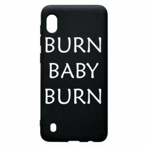 Etui na Samsung A10 Burn baby burn