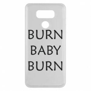 Etui na LG G6 Burn baby burn