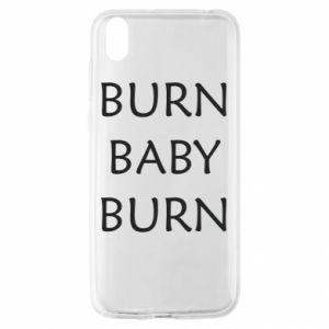 Etui na Huawei Y5 2019 Burn baby burn