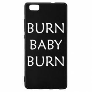 Etui na Huawei P 8 Lite Burn baby burn