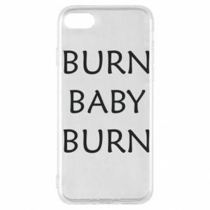 Etui na iPhone SE 2020 Burn baby burn
