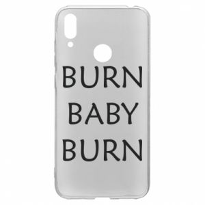 Etui na Huawei Y7 2019 Burn baby burn